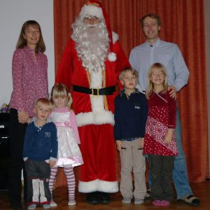 Ihr Weihnachtsmann für Bonn & Umgebung im Einsatz